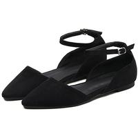 Giày Sandals Nữ Da Lộn Phối Quai Erosska ER014