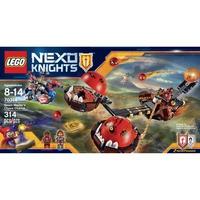 Mô Hình LEGO Nexo Knights 70314 Xe Kéo Hủy Diệt Của Quỷ Vương