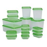 Bộ 17 hộp đựng thực phẩm cao cấp BQ15