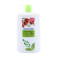Sữa tắm sáng da Hazeline Matcha và Lựu Đỏ