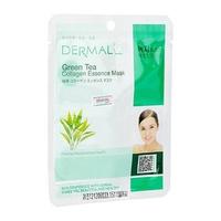 Mặt nạ chiết xuất trà xanh Dermal Green Tea Collagen Essence Mask 23G