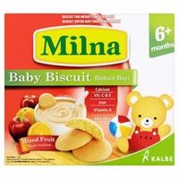 Bánh ăn dặm Milna hương cam táo