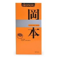 Bao Cao Su Okamoto Orange Super Lubricated