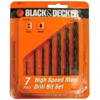 Hộp mũi khoan kim loại Black & Decker 15077G