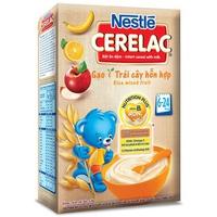 Bột ăn dặm Nestle gạo và trái cây hỗn hợp 200g trên 6 tháng
