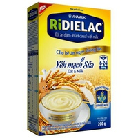 Bột ăn dặm Ridielac yến mạch sữa 200g (6-24 tháng)