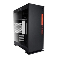 Case In-win 301 Black Mini Tower - Tempered Glass