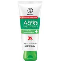 Kem Rửa Mặt Ngăn Ngừa Mụn Acnes Creamy Wash 100g