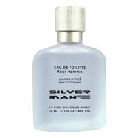 Nước hoa nam Jeanne Durfe Silver Man 50ml