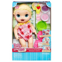 Bé Lily tập ăn dặm Baby Alive C2697