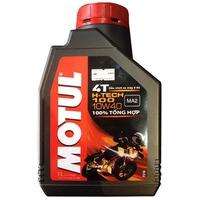 Nhớt tổng hợp xe mô tô Motul Hi-Tech 100 4T 10W-40 1L