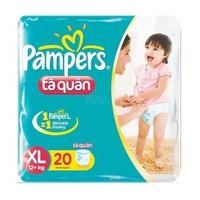 TÃ QUẦN PAMPERS XL20 (TRÊN 12KG)