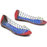Giày Búp Bê Quai Trong Gắn Đinh Sulily B04-IV17