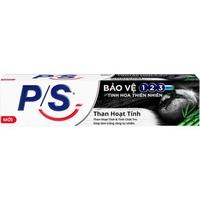 Kem đánh răng PS bảo vệ 123 than hoạt tính