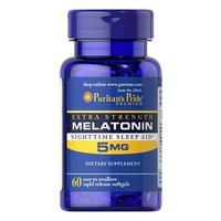 Thực Phẩm Chức Năng Giúp Ngủ Ngon Puritan's Pride Extra Strength Melatonin 5MG