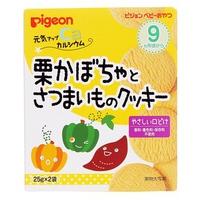 Bánh ăn dặm Pigeon vị bí ngô, khoai lang 7M+