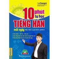 10 Phút Tự Học Tiếng Hàn Mỗi Ngày