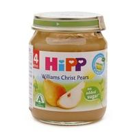 Dinh dưỡng đóng lọ HiPP Lê Williams 125g 4m+