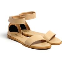 Giày Sandals Đế Bệt Quai Ngang Cindydrella C9