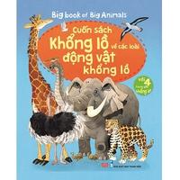 Big Book - Cuốn Sách Khổng Lồ Về Các Loài Động Vật Khổng Lồ