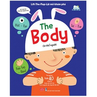 Lift-The-Flap Lật mở khám phá: The Body - Cơ thể người