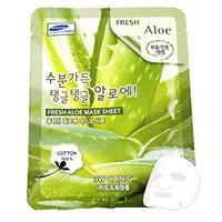 Mặt nạ dưỡng da ẩm mượt chiết xuất lô hội 3W Clinic Fresh Aloe Mask Sheet 23ml