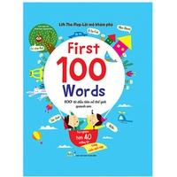 Lift-The-Flap-Lật mở khám phá: First 100 Words - 100 từ đầu tiên về thế giới quanh em