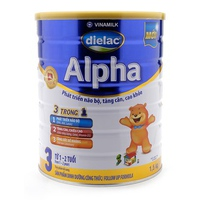 Sữa Dielac Alpha Số 3 1.5kg 1-2 tuổi
