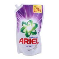 Nước giặt Ariel đậm đặc giữ màu dạng túi
