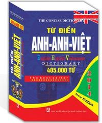 Từ Điển Anh - Anh - Việt (405000 từ)
