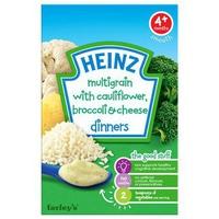 Bột ăn dặm Heinz Súp lơ, bông cải và phô mai 125g 4m+