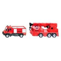 Mô hình xe Siku Blister 16 - Bộ xe cứu hỏa 1661