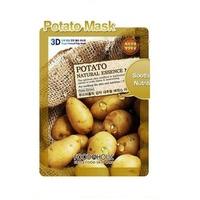 Mặt Nạ Dưỡng Sáng Da 3D Foodaholic Potato Natural Essence Mask 23ml