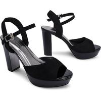 Giày Sandals Cao Gót Đúp 1 Dây Sulily SDV2-IV17