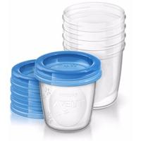 Cốc trữ sữa Philips Avent SCF619.10 (Hộp 5 cái)