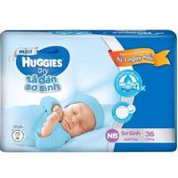 Tã dán Huggies newborn S36 (dưới 5kg)