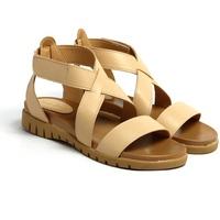 Giày Sandals Đế Bánh Mì Quai Chéo Cao Cổ Cindydrella C17