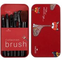 Bộ Cọ Trang Điểm Hộp Sắt 6 Cây Vacosi Collection Makeup House
