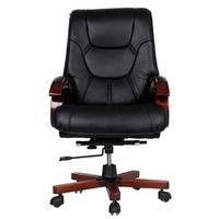 Ghế da giám đốc chân gỗ cao cấp IBIE IB316 68 x 68 x 115 cm