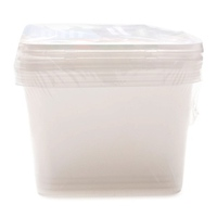 Bộ 4 hộp đựng thực phẩm Uncle Bills KS0278 1L