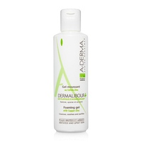 Gel làm sạch dịu nhẹ cho da kích ứng, khô hay rỉ dịch A-Derma Dermalibour + Foaming Gel 250ml