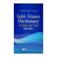 Từ Điển Anh - Việt (65000 Từ)