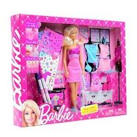 Búp bê Barbie BCF81 vui thiết kế
