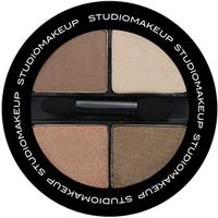 Bảng Phấn Mắt 4 Màu StudioMakeup Soft Blend Eyeshadow Quad