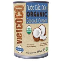 Nước cốt dừa Vietcoco Organic