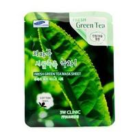 Mặt nạ chiết xuất trà xanh 3W Clinic Fresh Green Tea Mask Sheet 23ml