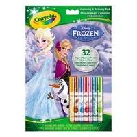 Bộ bút giấy tô màu Crayola Color Wonder - Disney Princess