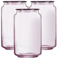 Hũ thuỷ tinh Luminarc Rondo Ice Pink L0365