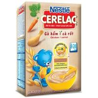 Bột ăn dặm Nestle Gà hầm cà rốt 200g