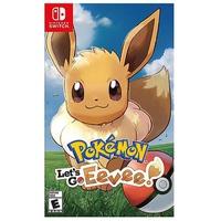 Đĩa game Pokemon Let's Go Eevee nintendo switch
